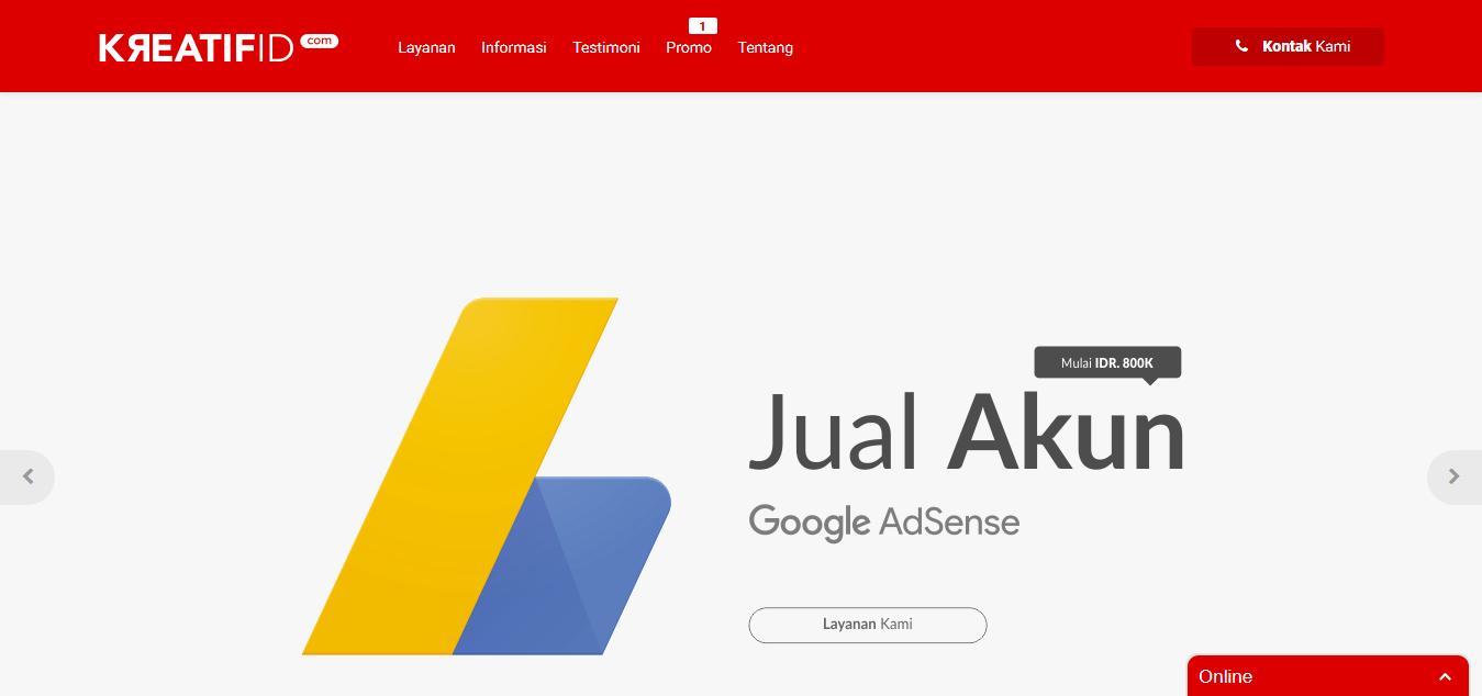 KreatifID - Layanan Jasa Pembuatan Google Ads, Jasa Penulisan Artikel dan Optimasi SEO